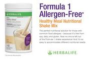 Herbalife Formula 1 Free From shake - free from soy, lactose, & gluten.